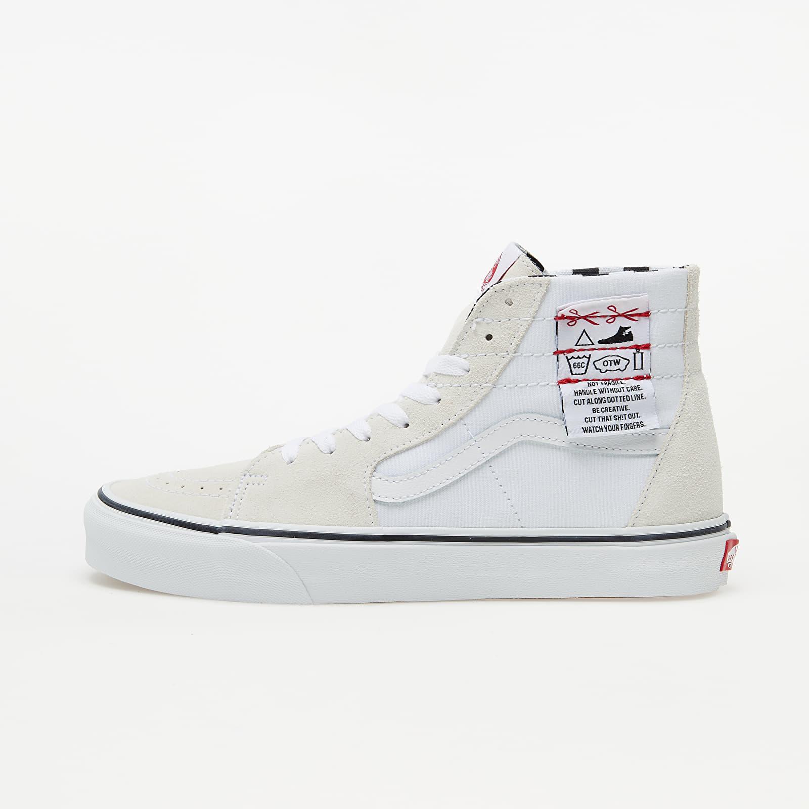 Vans Sk8-Hi Tapered (Diy) White/  Tru VN0A4U1624F1