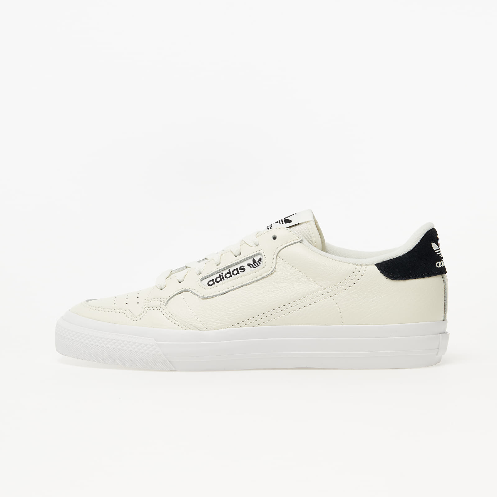adidas Continental Vulc Off White/ Off White/ Core Black EG4589