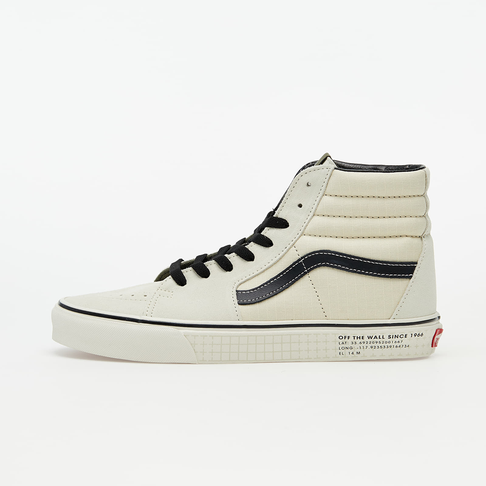 Vans Sk8-Hi (66 Supply) Antique White/ Black VN0A4BV622H1