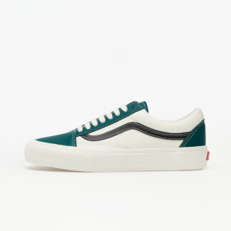 Vans Old Skool VLT LX (Leather) Evergreen/ Marshmallow VN0A4BVF22D1