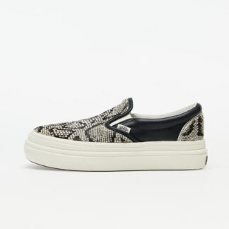 Vans Super ComfyCush Slip-On (Snake/ Pony) Black/ Marshmallow VN0A4U3I26F1