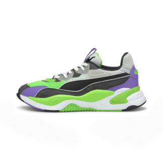 Puma RS-2K Internet Exploring Dark Shadow-Fluo Green 37330902