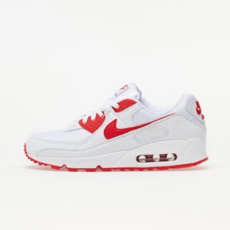 Nike Air Max 90 White/ Hyper Red-Black CT1028-101