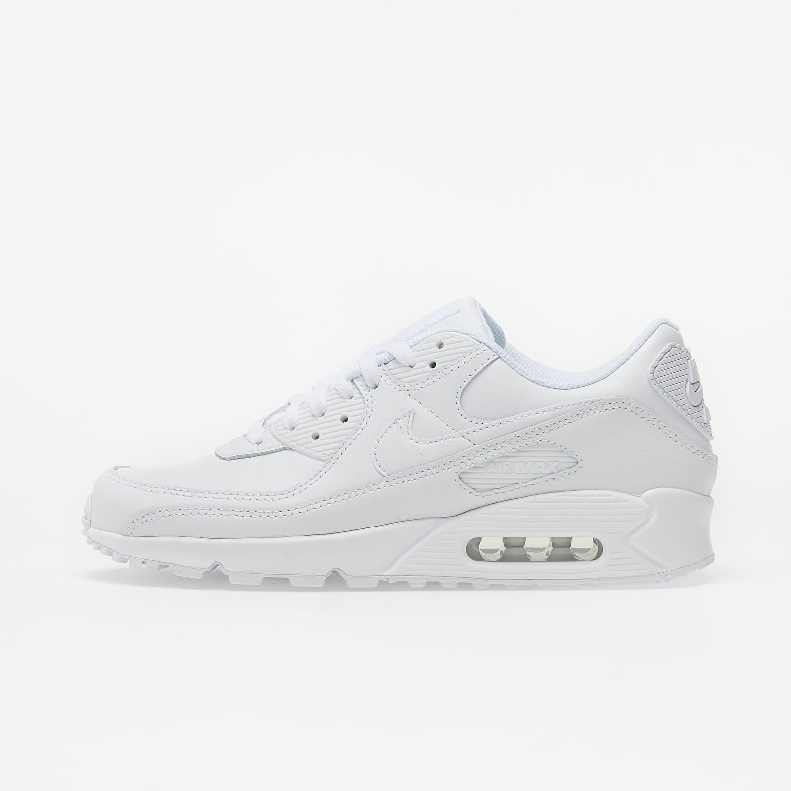 Nike Air Max 90 Leather White/ White-White CZ5594-100