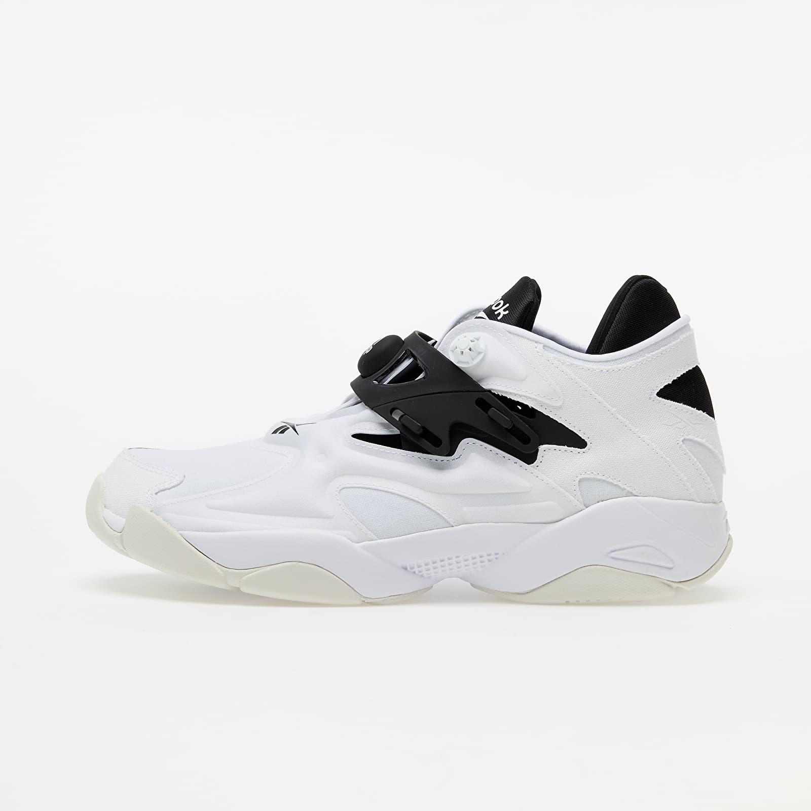 Reebok Pump Court White/ Black/ Trace Grey 1 FW7817