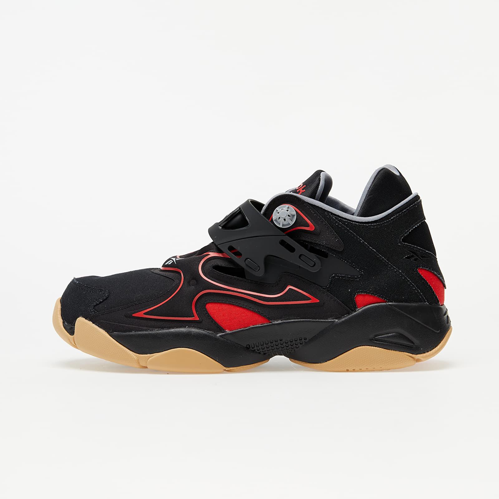 Reebok Pump Court Black/ Insane Red/ Rbkg02 FW7821