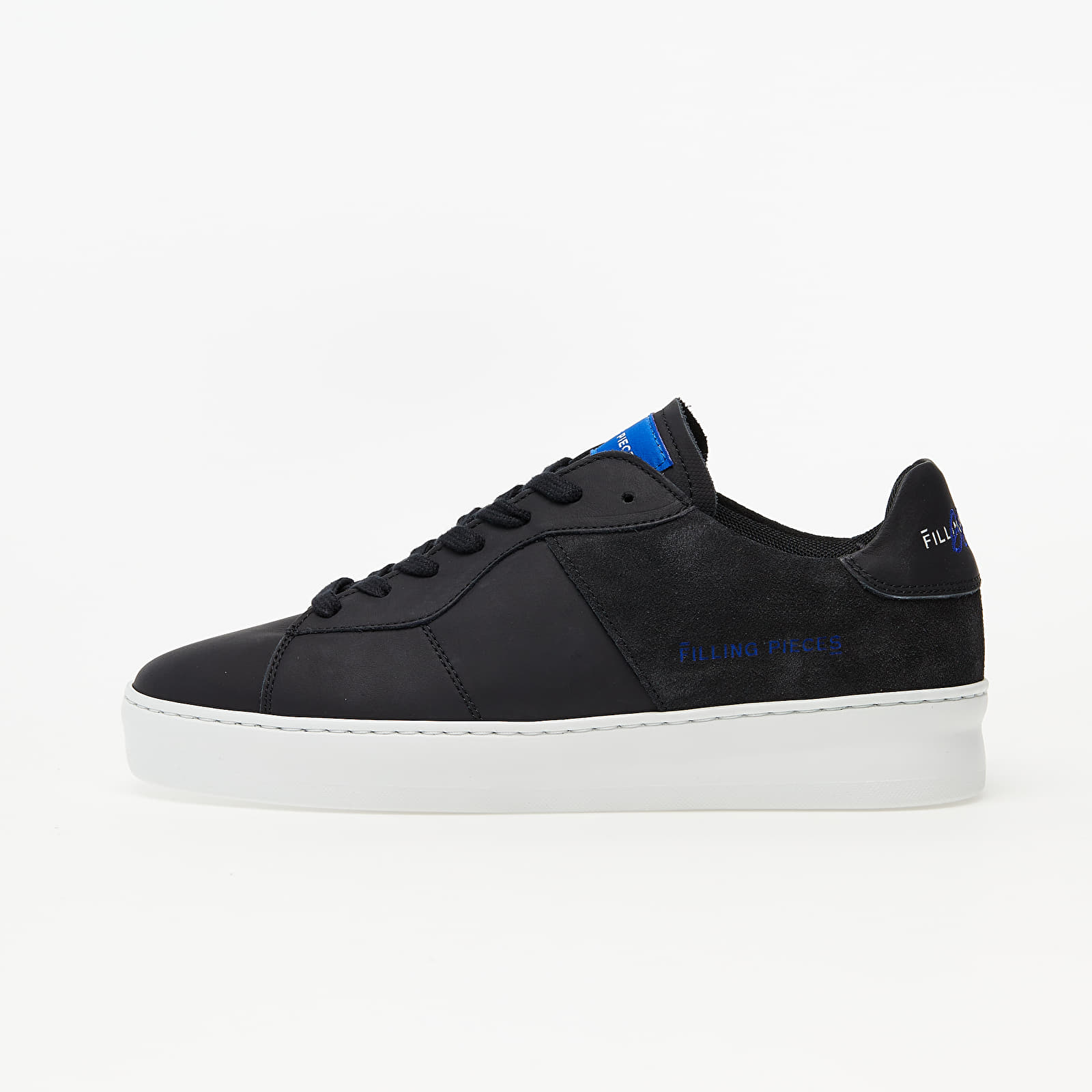 Filling Pieces Low Plain Court Organic Black 422272720060