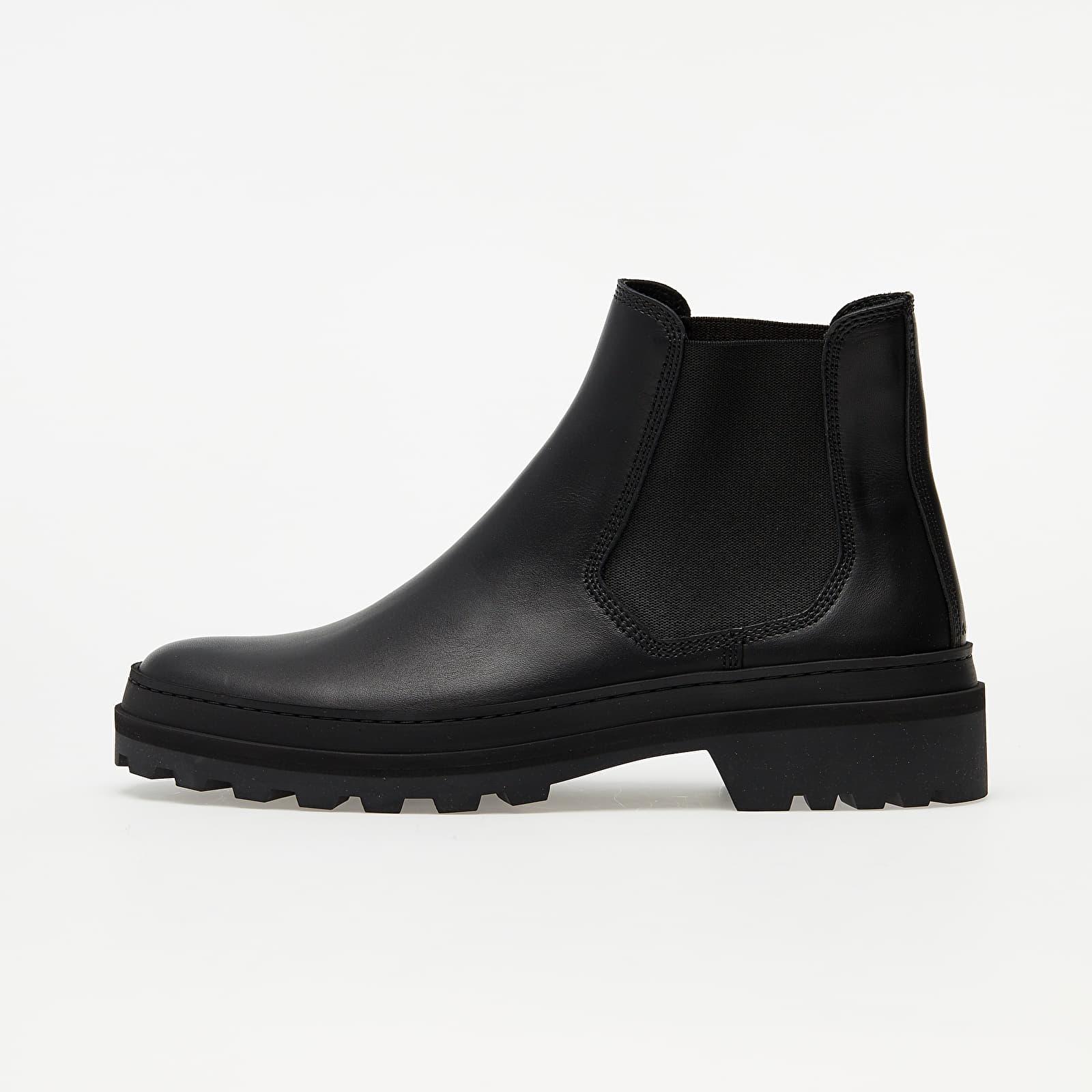 A.P.C. Cali Lug Sole Chelsea Boot Black/ Black/ Black H54194
