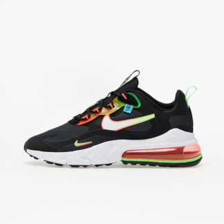 Nike Air Max 270 React WW Black/ White-Green Strike-Flash Crimson CK6457-001