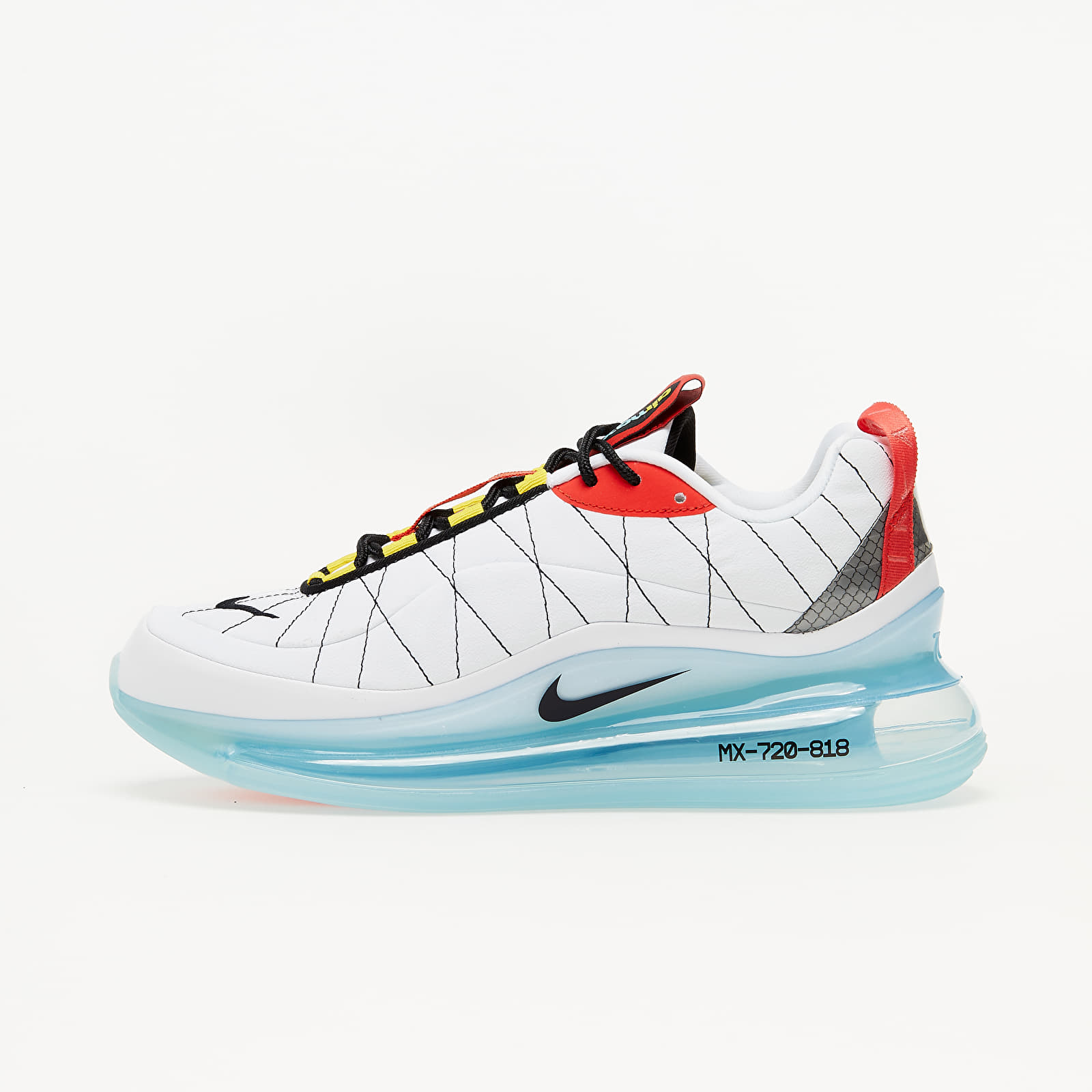 Nike MX-720-818 White/ Black-Speed Yellow-Chile Red CV4199-100