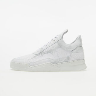 Filling Pieces Low Top Ghost Skid All White 252284818550