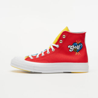 Converse x Golf Wang Chuck 70 Blue Yellow/ Red 169910C