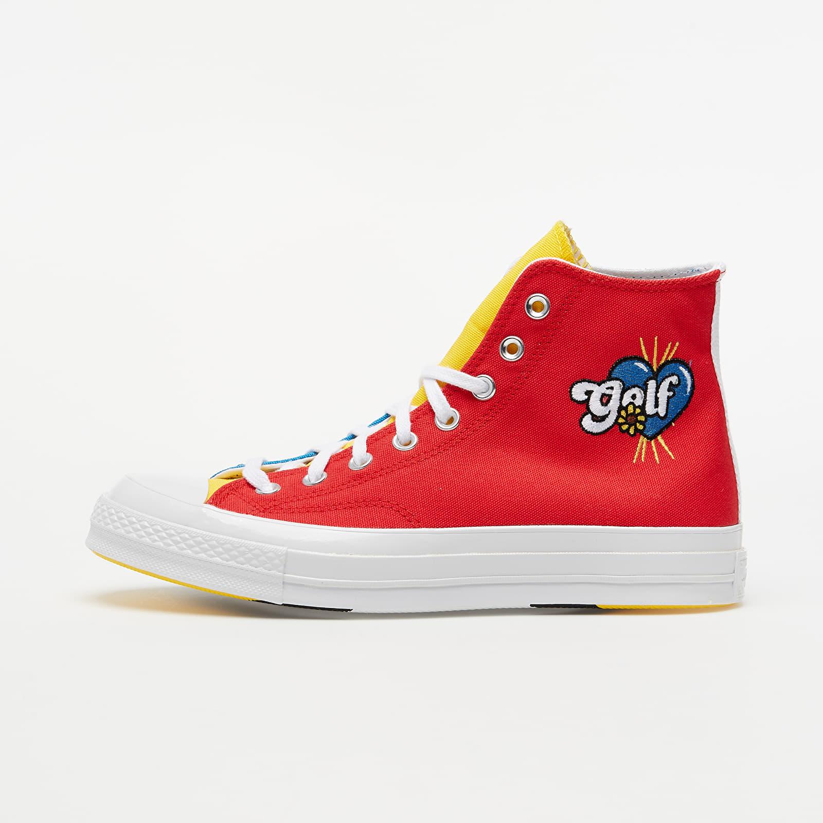 Converse x Golf Wang Chuck 70 Blue Yellow/ Red 169910C