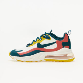 Nike Air Max 270 React Summit White/ Midnight Turq-Pueblo Red CT1264-103