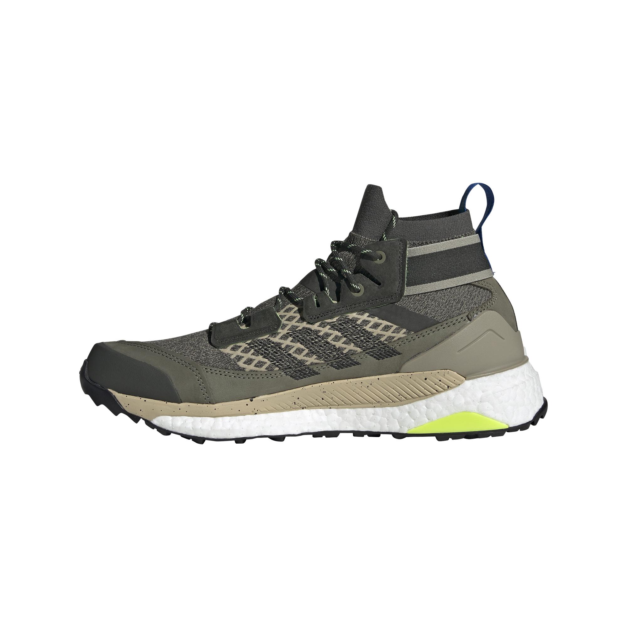 adidas Terrex Free Hiker Blue Legend Green/ Core Black/ Signature Green EF0368