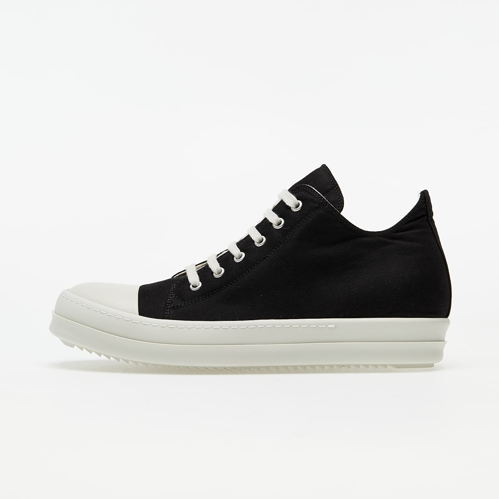 Rick Owens DRKSHDW Low Sneakers Black/ White DU20F1802 TWP