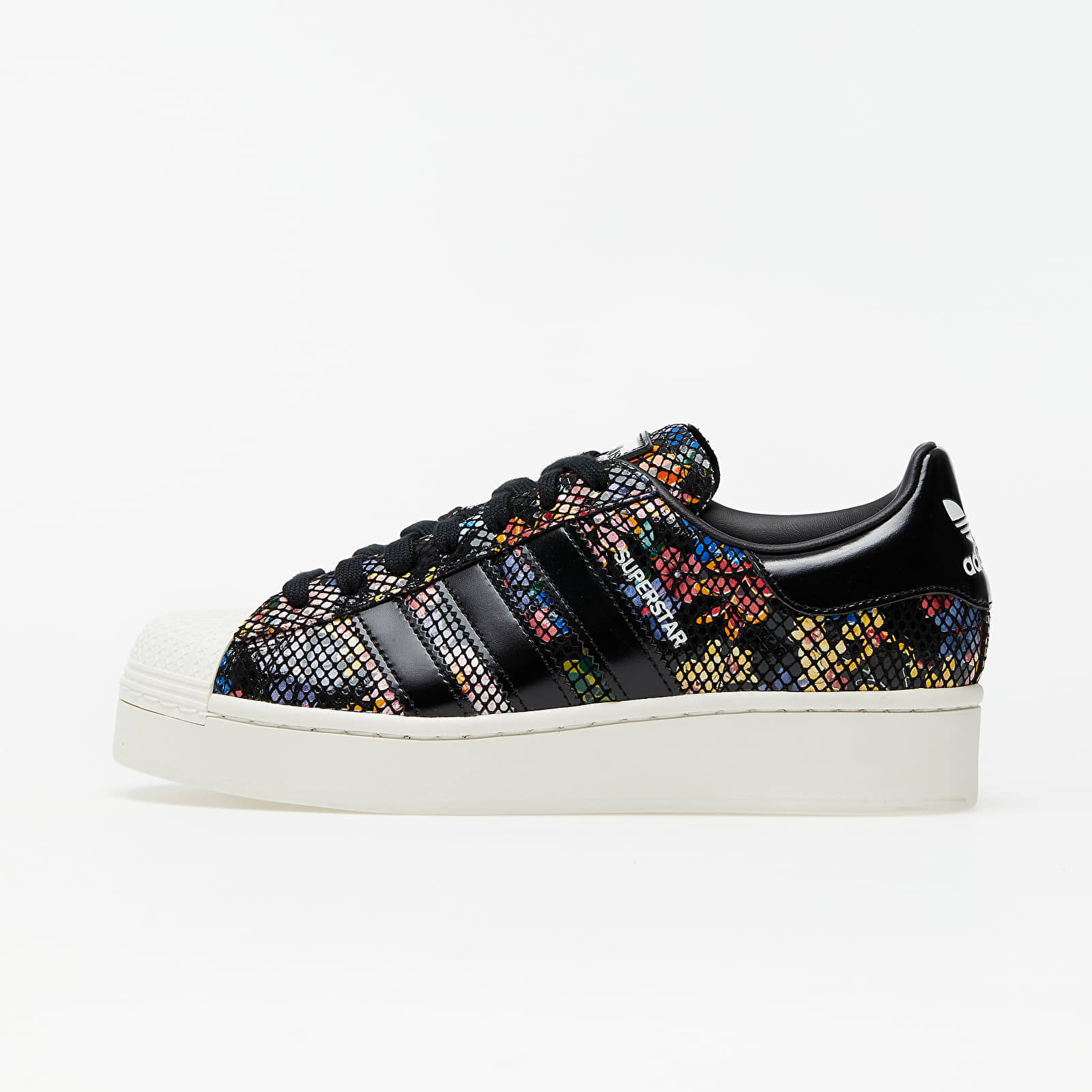 adidas Superstar Bold W Core Black/ Off White/ Red FW3701