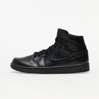 Air Jordan 1 Mid W Black/ Black-White BQ6472-010