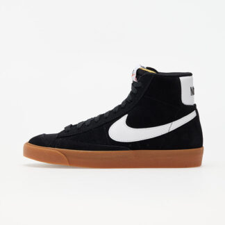 Nike W Blazer Mid '77 Suede Black/ White-Gum Med Brown-Total Orange DB5461-001
