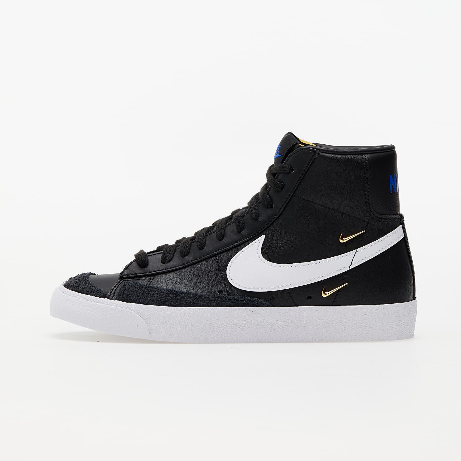 Nike W Blazer Mid '77 SE Black/ White-Hyper Royal-White CZ4627-001
