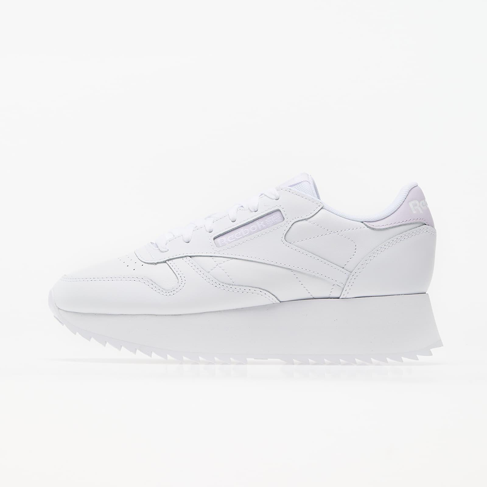 Reebok Club Leather Double White/ Luminous Lilac/ White FY7264