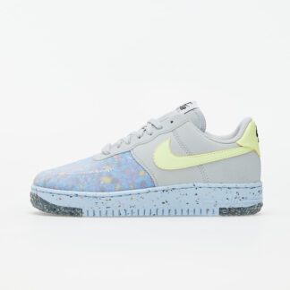 Nike W Air Force 1 Crater Pure Platinum/ Barely Volt-Summit White CT1986-001