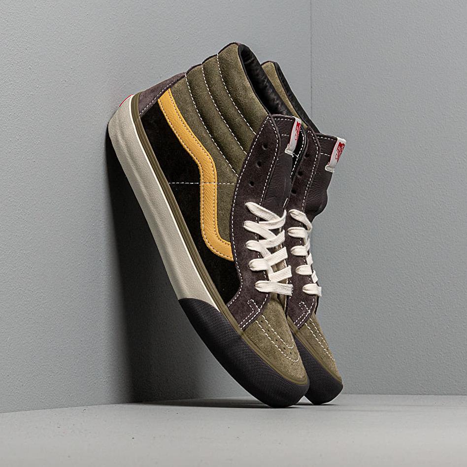 Vans SK8-Hi Reissue VL (Suede/ Leather) Shale/ Stone VN0A4BVHVYM1