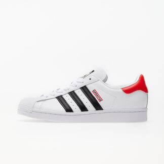 adidas x RUN DMC Superstar 50 Ftw White/ Core Black/ Hi-Res Red FX7616