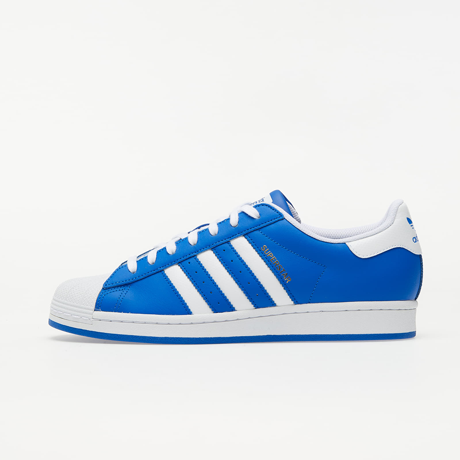 adidas Superstar Blue/ Ftw White/ Gold Metalic FW6010