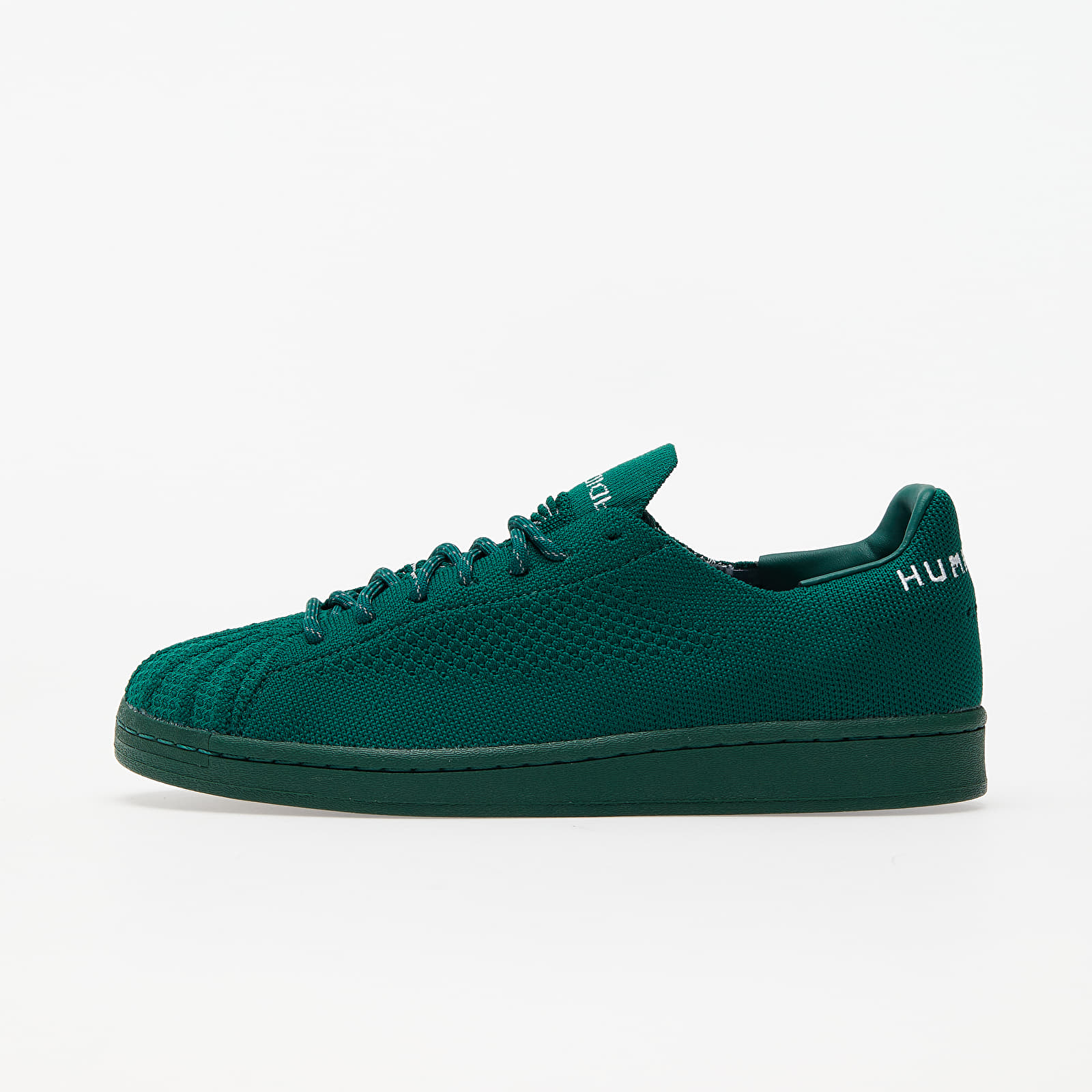 adidas x Pharrell Williams Superstar Pk Dark Green/ Dark Green/ Sky Tint S42928