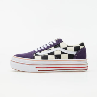 Vans Super ComfyCush Old Skool (Suede) Purple Checkerboard VN0A4UUN26C1