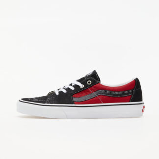 Vans Sk8-Low (Leather) Black/ Chilli Pepper VN0A4UUK2S11