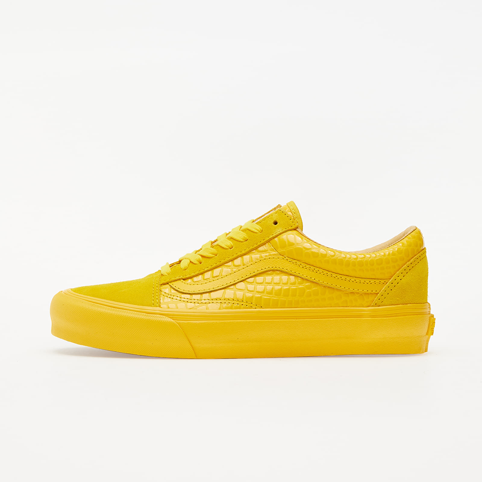 Vans Old Skool VLT LX (Croc Skin) Lemon Chrome VN0A4BVF2TR1
