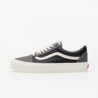 Vans Old Skool Vlt LX (Leather) Charcoal/ Black VN0A4BVF2TS1