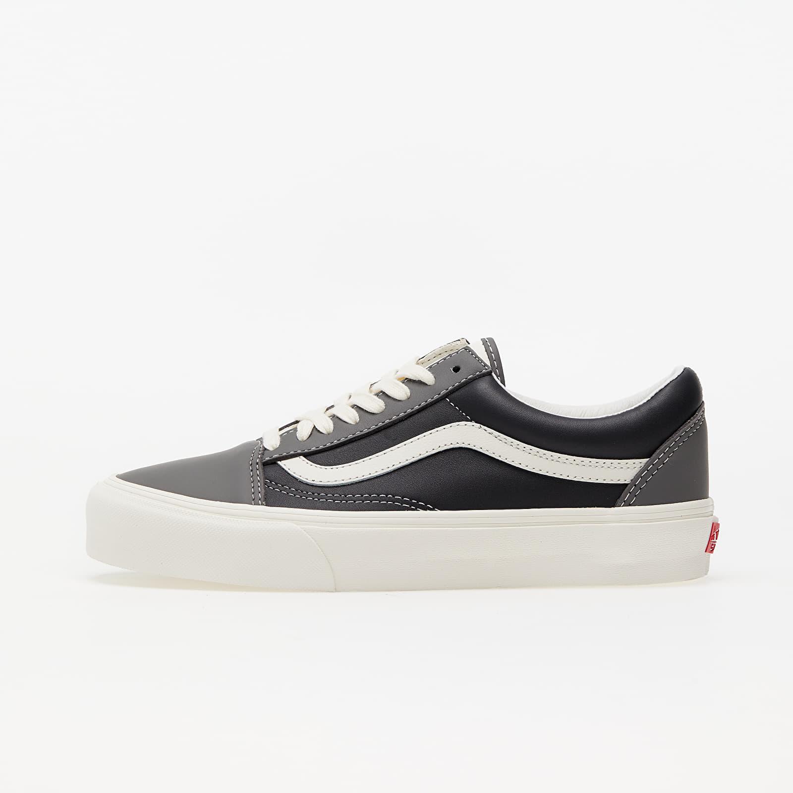 Vans Old Skool Vlt LX (Leather) Charcoal/ Black VN0A4BVF2TS1
