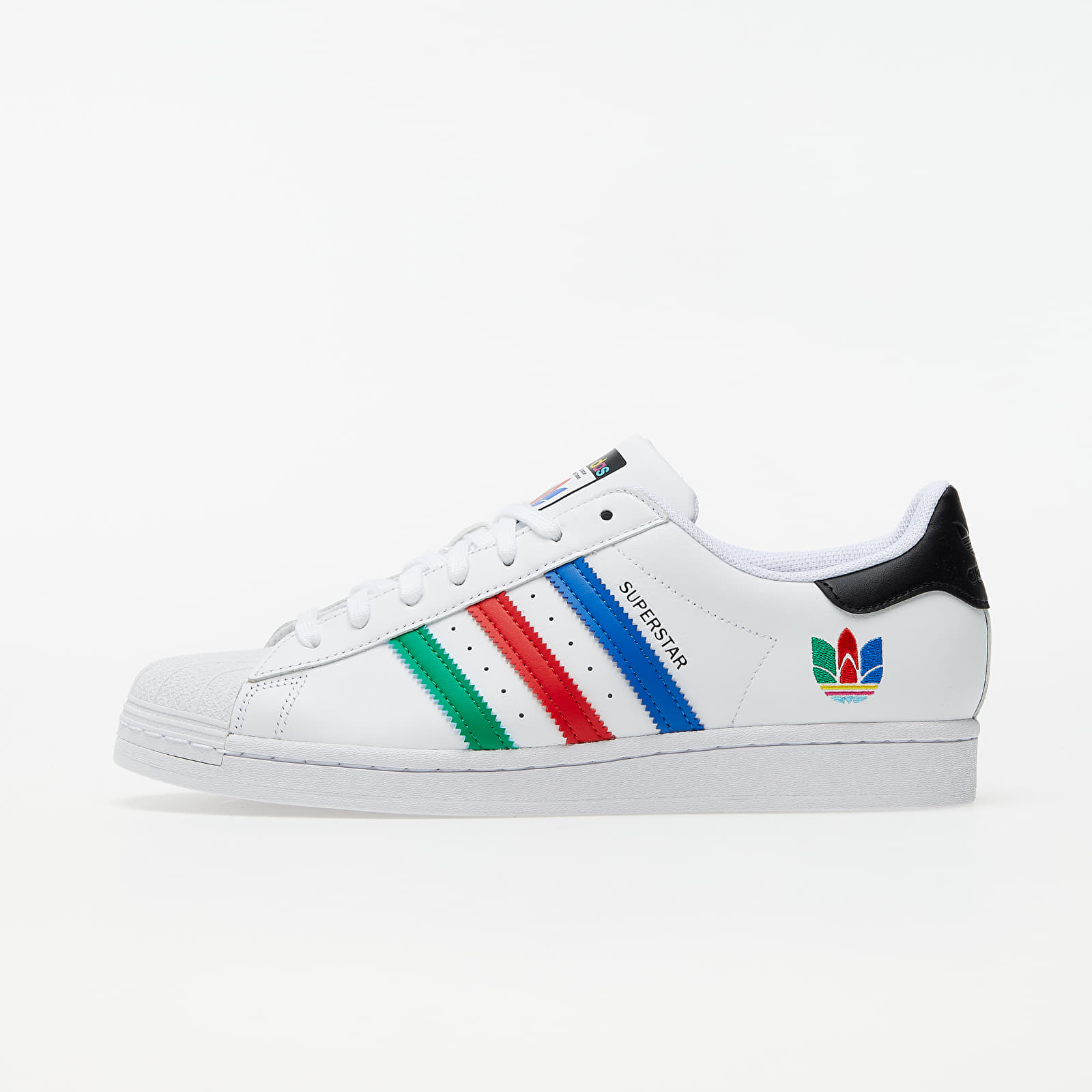 adidas Superstar Ftw White/ Green/ Core Black FU9521