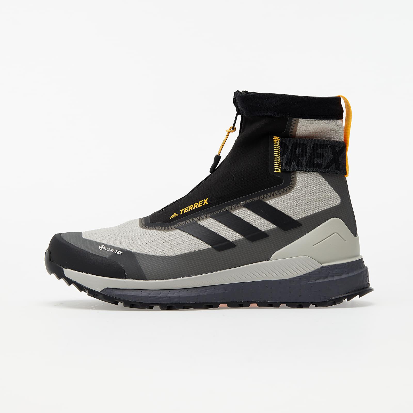 adidas Terrex Free Hiker COLD.RDY Metalic Grey/ Core Black/ Solid Gold FV8800