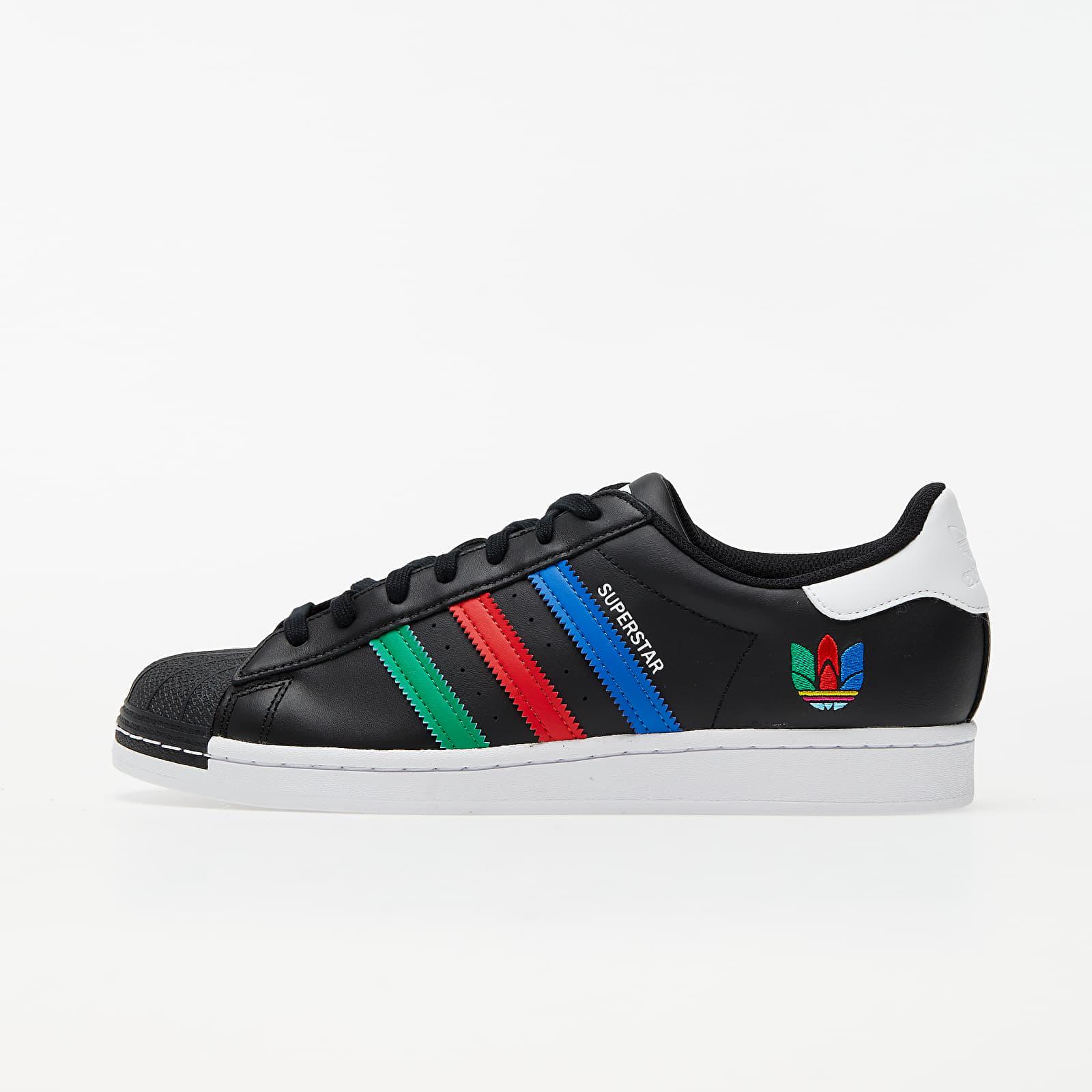 adidas Superstar Core Black/ Green/ Ftw White FU9520