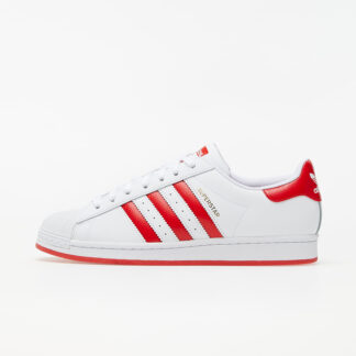 adidas Superstar Ftw White/ Lust Red/ Gold Metalic FW6011