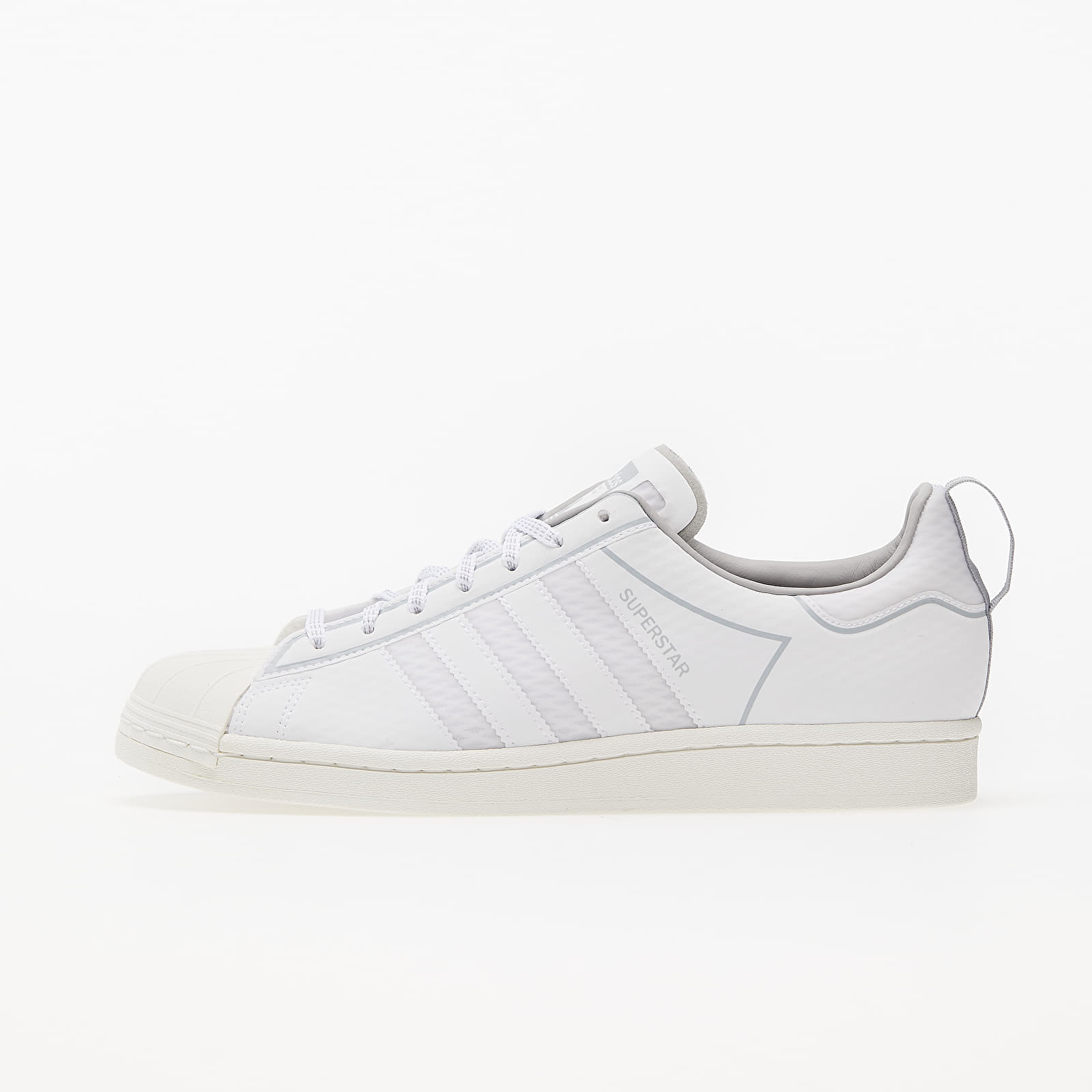 adidas Superstar Ftw White/ Off White/ Grey One FW6014
