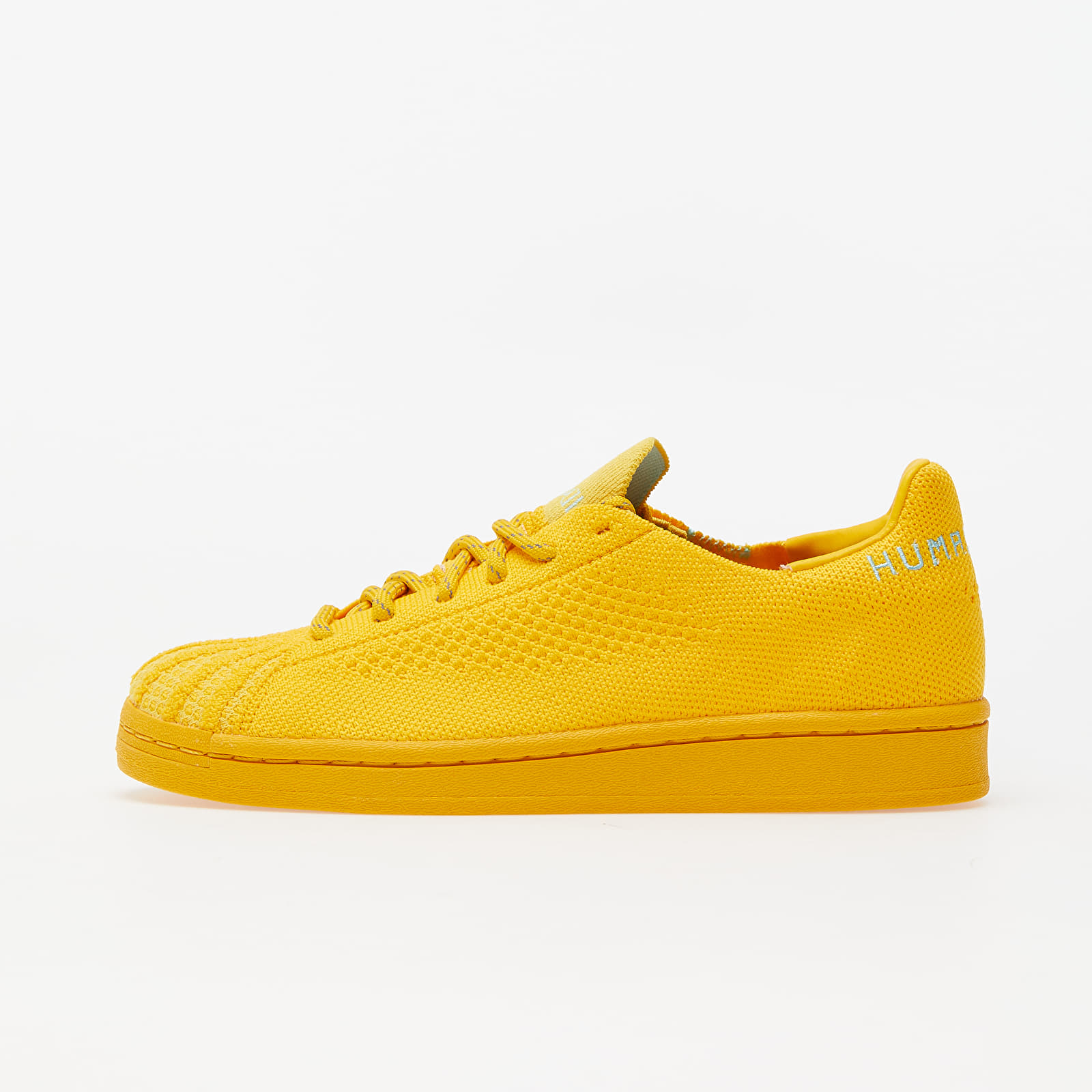 adidas x Pharrel Williams Superstar Pk Bold Gold/ Cardboard/ Clear Aqua S42930