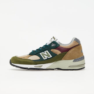 New Balance 991 Green/ Brown M991NTG