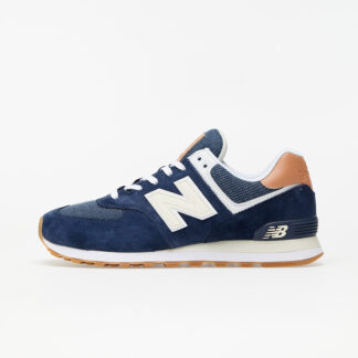 New Balance 574 Navy Blue/ Brown ML574TYA