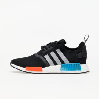 adidas NMD_R1 Core Black/ Silver Met./ Solar Red FY5727