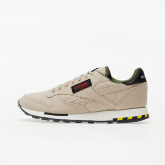 Reebok Classic Leather MU Modern Beige/ Black/ Blaze Yellow H68136