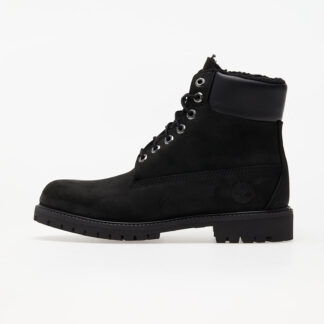 Timberland 6 In Premium Fur Lined Black TB0A2E2P0011