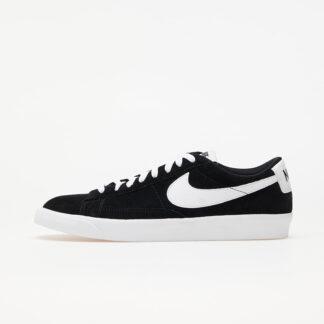 Nike Blazer Low Premium Vntg Suede Black/ White 538402-004