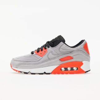 Nike Air Max 90 QS Night Silver/ Night Silver-Bright Crimson CZ7656-001