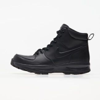 Nike Manoa Leather Black/ Black-Black 454350-003