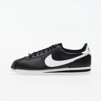 Nike Cortez Basic Leather Black/ White-Metallic Silver 819719-012